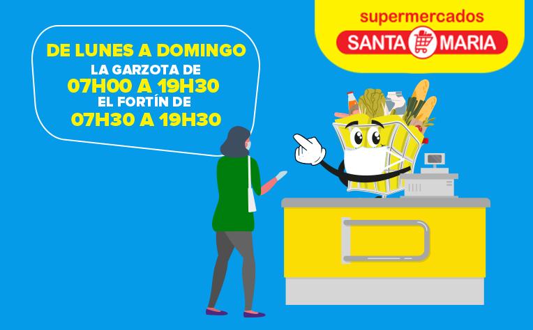 Horario especial Garzota
